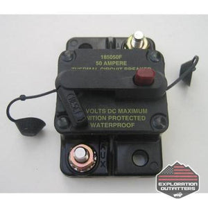 ExtremeAire 50 Amp Resettable Circuit Breaker - ExplorationOutfitters.com