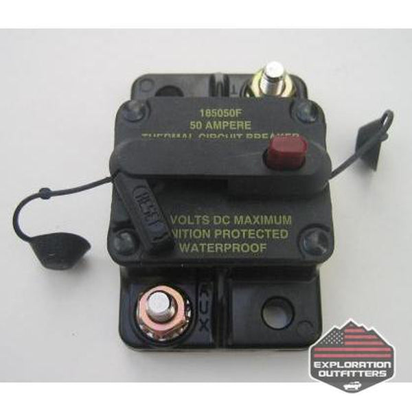50 Amp Manually Resettable Circuit Breaker - By ExtremeAire