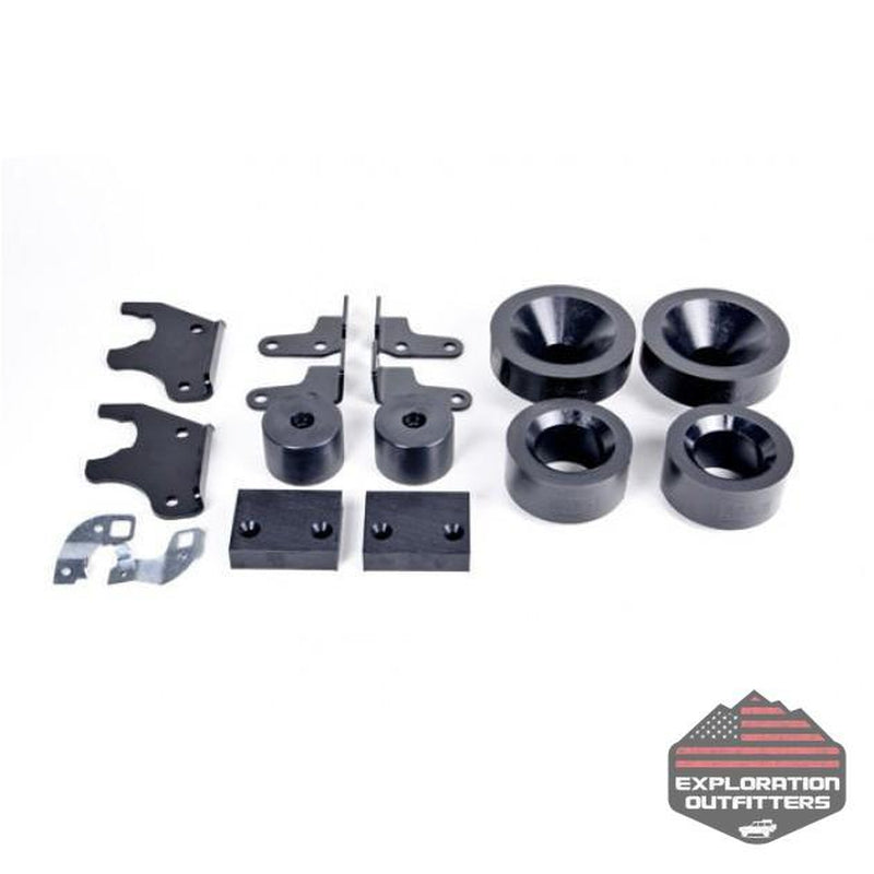 "AEV 2.0"" Spacer Suspension System - '07-'18 Jeep Wrangler - ExplorationOutfitters.com"