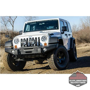 AEV Tubeless Front Bumper - Jeep Wrangler - ExplorationOutfitters.com