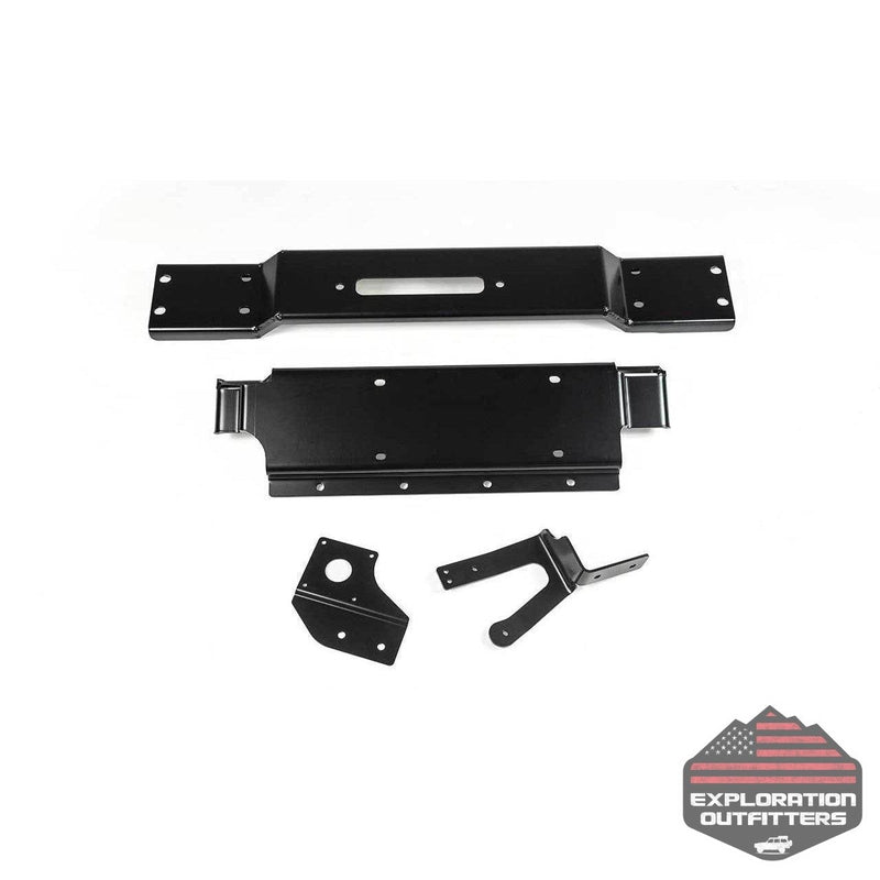 AEV Winch Mount - Hard Rock/10th Anniversary - ExplorationOutfitters.com