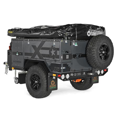 Patriot Campers X1 Graphite - Exploration Outfitters