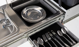 Cutlery and Plate Storage - Patriot Campers USA