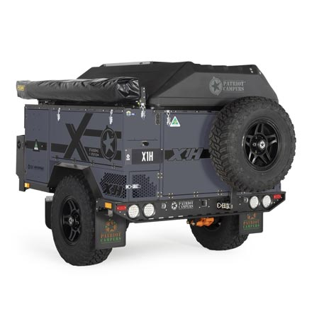 Patriot Campers X1-H Graphite - Exploration Outfitters