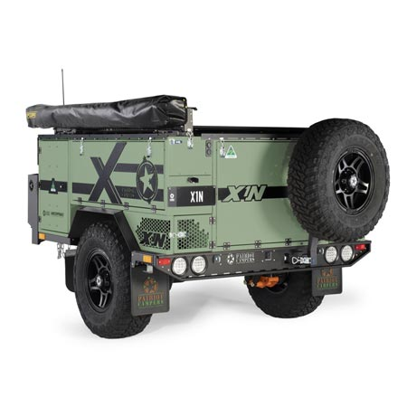 Patriot Campers X1-N Green - Exploration Outfitters