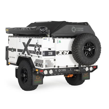 Patriot Campers X1-H White - Exploration Outfitters