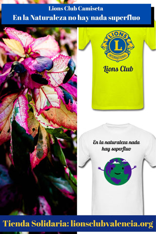 Image of Lions Club Camiseta En la Naturaleza no hay nada superfluo