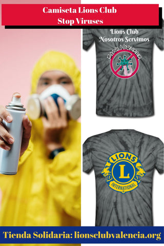 Image of Camiseta Lions Club Stop Viruses
