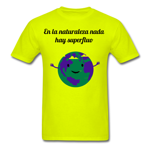 Image of Men's T-Shirt - safety green