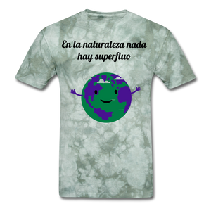 Men's T-Shirt - military green tie dye