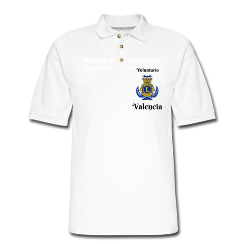 Image of Polo Lions Club Valencia - white
