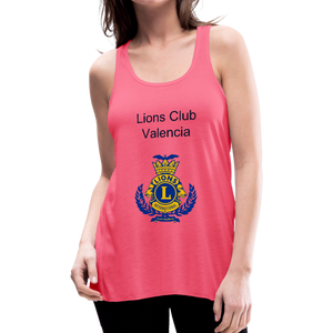 Tank Top Lions Club Valencia - neon pink