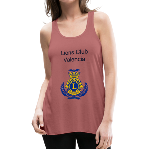 Image of Tank Top Lions Club Valencia - mauve
