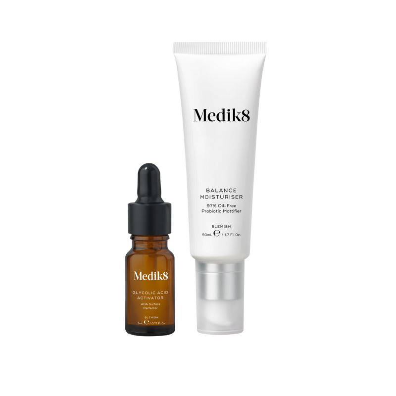 Balance Moisturise with Glycolic Acid Activator (50ml + 5ml)