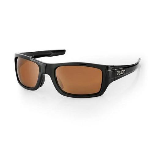 Load image into Gallery viewer, TONIC Shades Trakker Shiny Black Photochromic Copper