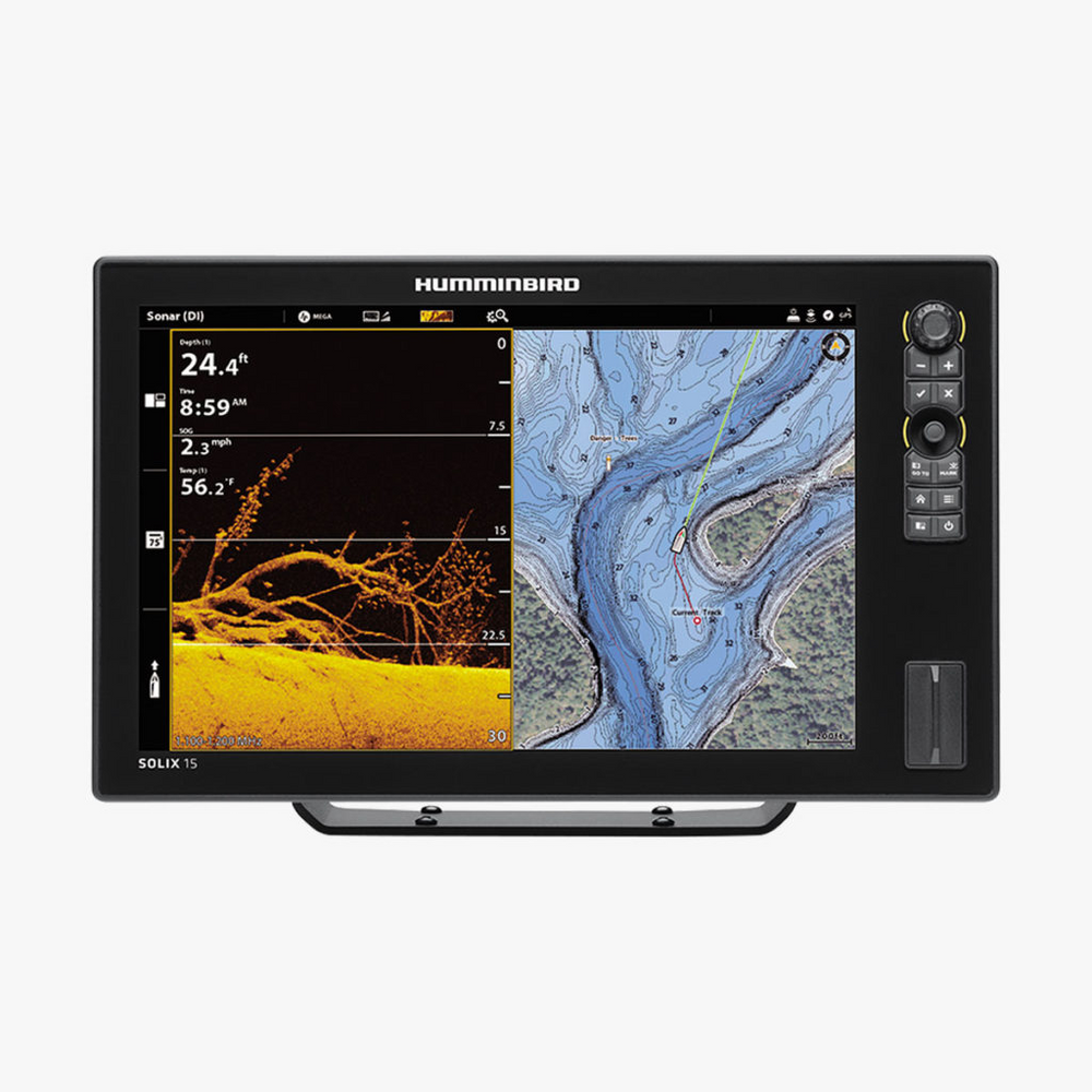 Load image into Gallery viewer, HUMMINBIRD - SOLIX 15 CHIRP MEGA DI+ GPS CHO G2 (Control Head Only)