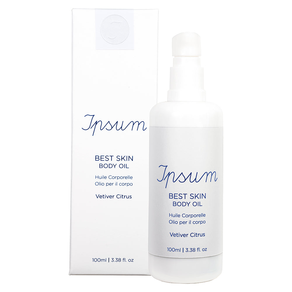 Ipsum Best Skin Body Oil Vetiver Citrus