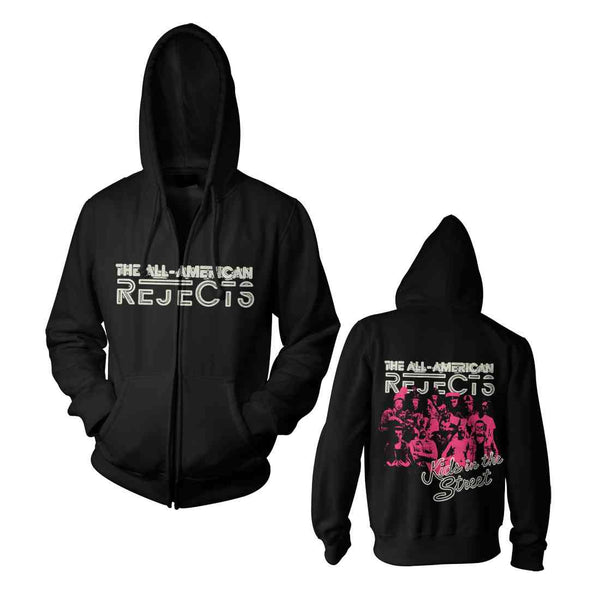 All-American Rejects Cluster Punk Zip Hoodie
