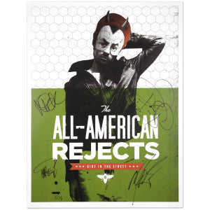 All American Rejects AUTOGRAPHED Devil Boy Lithograph