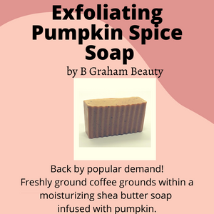 Soap - Exfoliating Pumpkin Spice