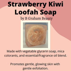 Soap - Strawberry Kiwi Loofah