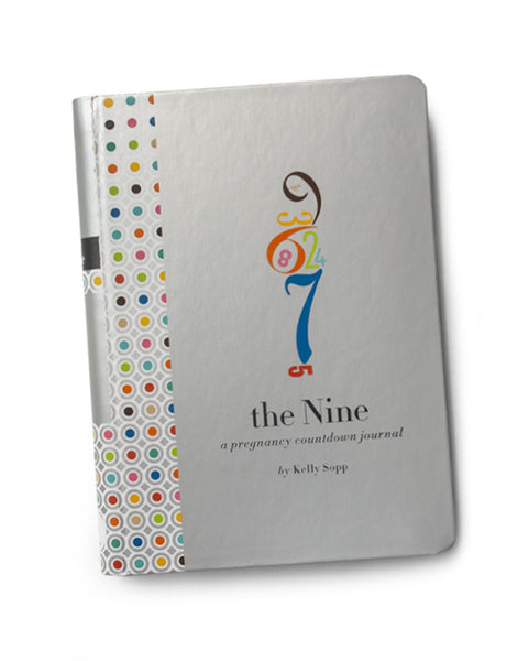 Nine Pregnancy Countdown Journal Cover