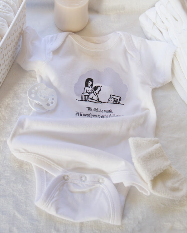 Baby Bodysuit | We Did The Math...