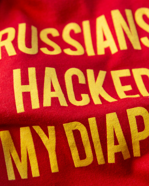 Baby Bodysuit | Russians Hacked My Diaper