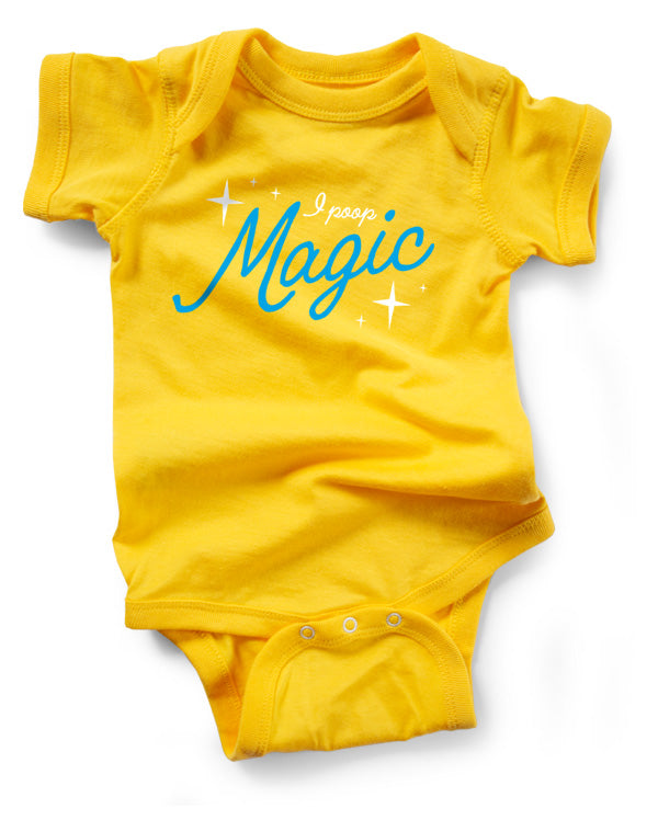 Baby Bodysuit | I Poop Magic