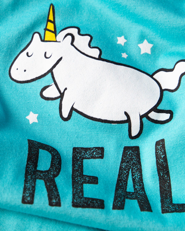 Baby Bodysuit | Unicorns are Real