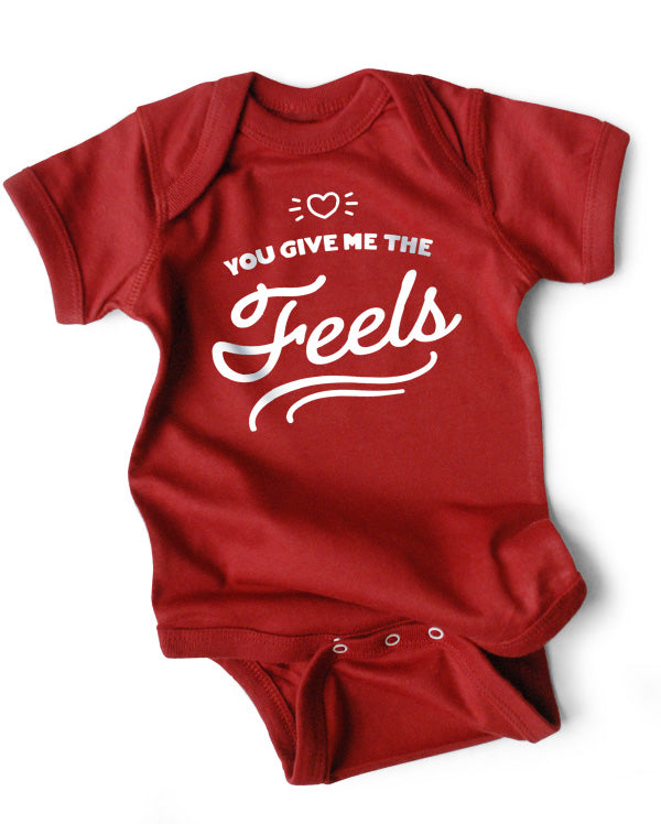 Baby Bodysuit | You Give Me the Feels