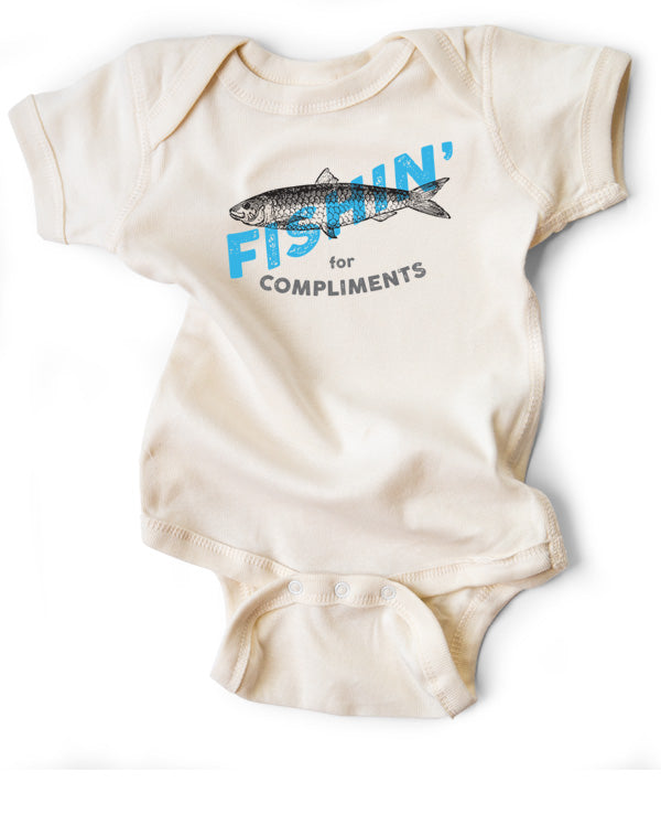 Baby Bodysuit | Fishin' for Compliments