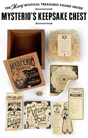 Mysterio Keepsake Chest of Amazing Stuff