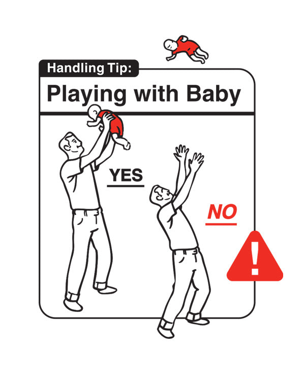 Safe Baby Handling Tips Bundle - Playing with Baby