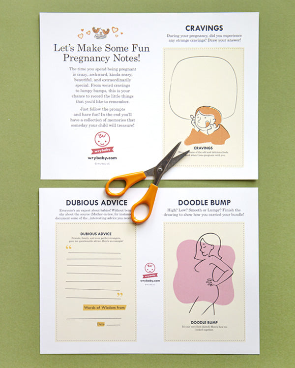 Activity | Pregnancy Note Set – Wry Baby