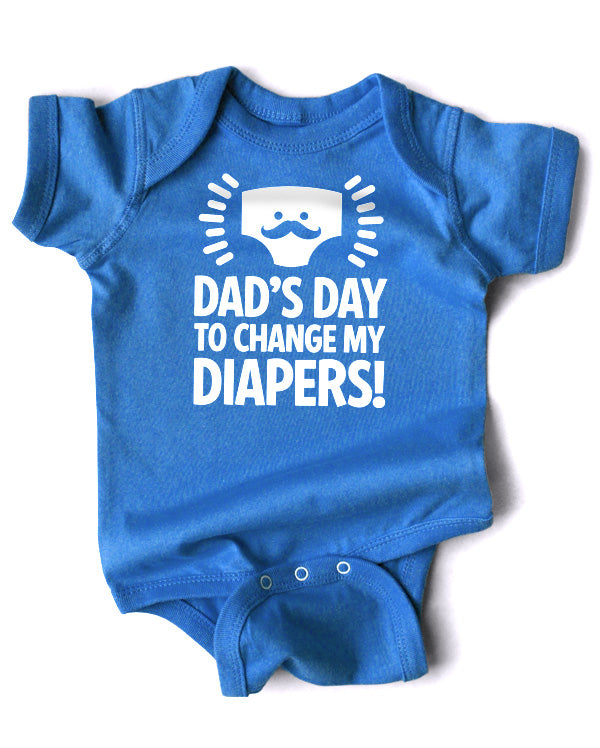 DIY Printable | Dad's Day to Change My Diapers