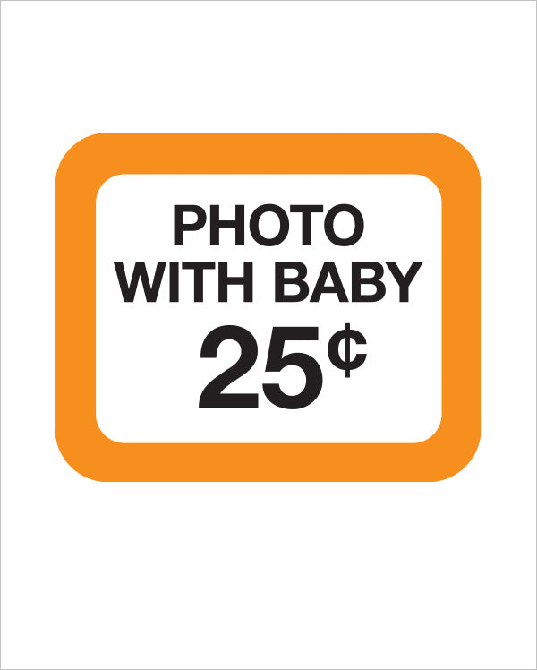 DIY Printable | Photo with Baby 25¢