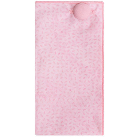 Pink Tonal Print Pocket Square - The Detailed Male
