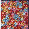 Multi Colored Floral Print Pocket Square - The Detailed Male