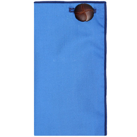 Royal Blue Pocket Square - The Detailed Male