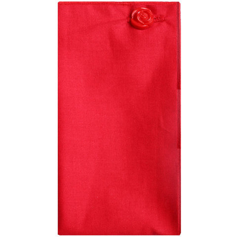Red Pocket Square - The Detailed Male