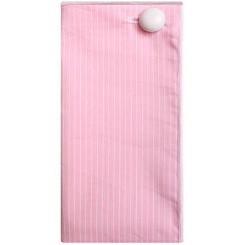 Pink and White Stripe Pocket Square - The Detailed Male