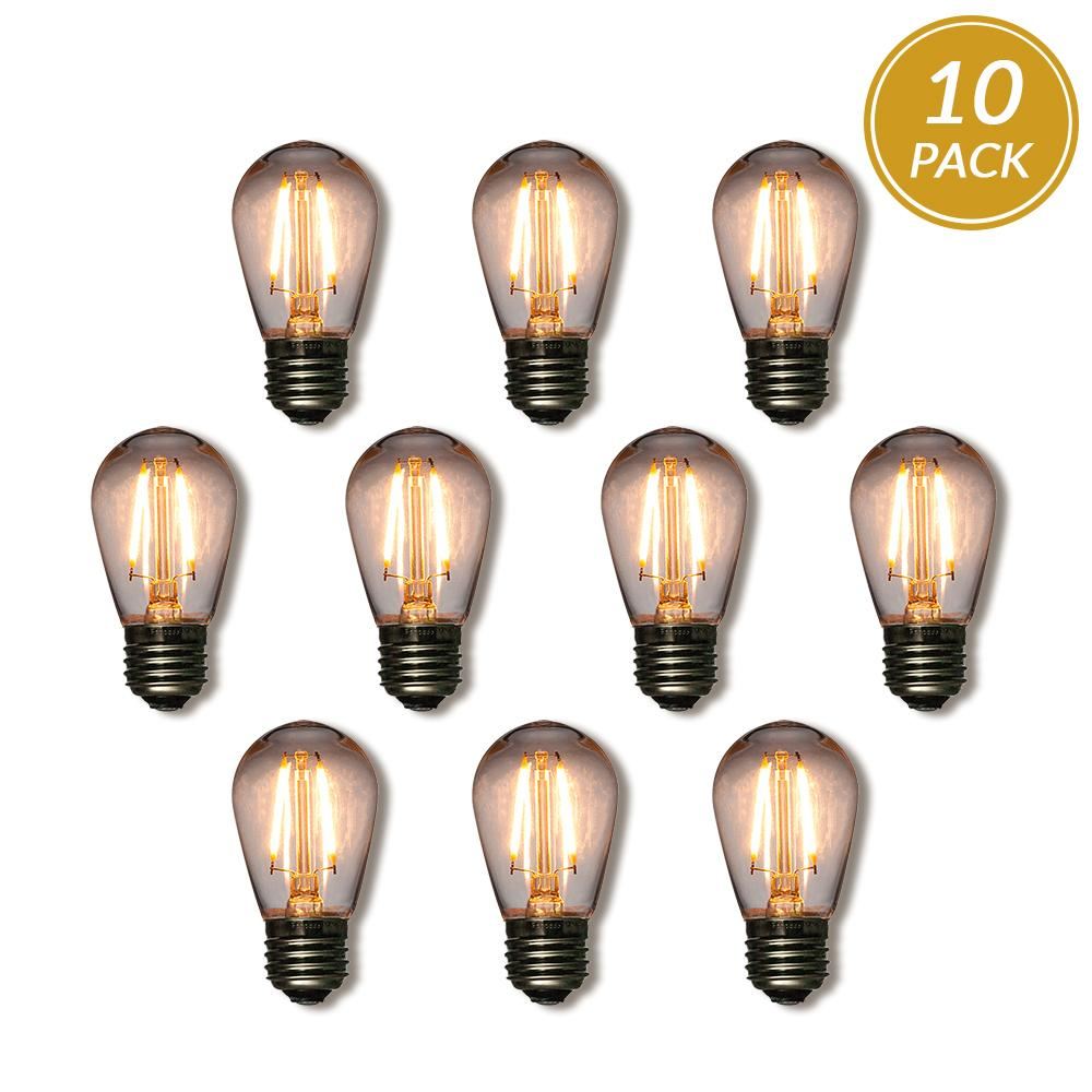 Shatterproof Light Bulbs - 10-Pack