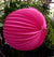 "12"" Fuchsia Accordion Paper Lantern Balls - (3 PACK) - AsianImportStore.com - B2B Wholesale Lighting and Decor"