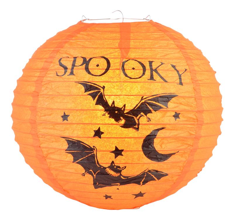 "12"" Spooky Vampire Bats Halloween Paper Lantern - AsianImportStore.com - B2B Wholesale Lighting and Decor"