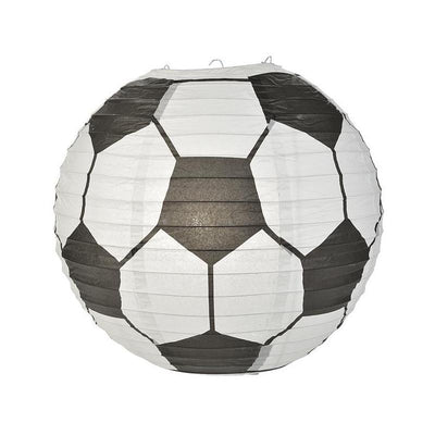Soccer Ball / Futbol Paper Lantern Shaped Sports Hanging Decoration