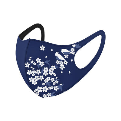 Medium Comfortable Face Mask Covering 3-ply Washable Reusable (for Teens & Adults)