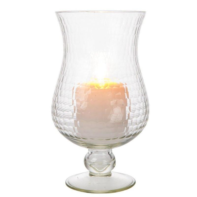 "10"" Large Clear Abigail Hurricane Candle Holder and Vase (20 PACK) - AsianImportStore.com - B2B Wholesale Lighting and Décor"
