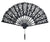 "11"" Black Lace Hand Fan for Weddings - AsianImportStore.com - B2B Wholesale Lighting and Decor"