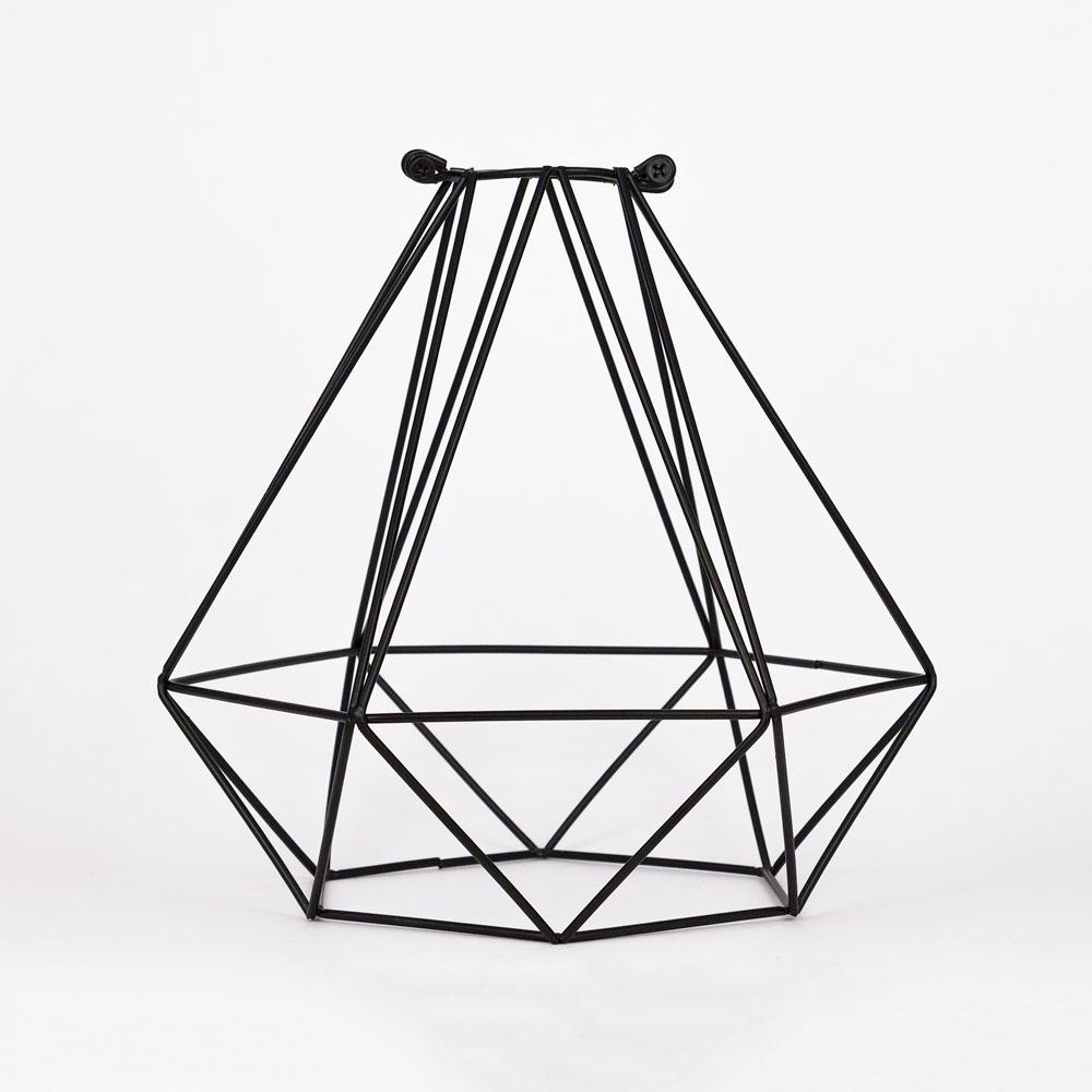 Geometric Diamond Vintage Edison Light Bulb Cage for Pendant Lights *Bulb Cage Only - AsianImportStore.com - B2B Wholesale Lighting and Decor